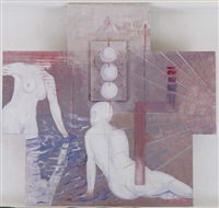 femmes aux bains (in 7 parts) by frank s dorsay