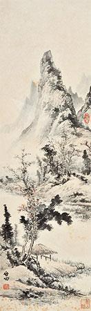 山水 一框 by qi gong