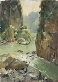 桂林山水 by liu guoshu