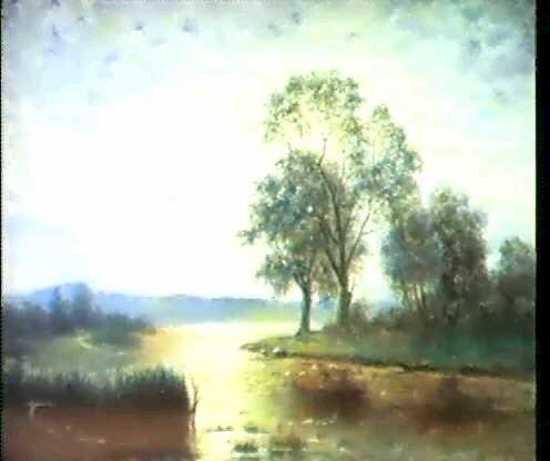 landskap med vattendrag i mansken by johnny millar