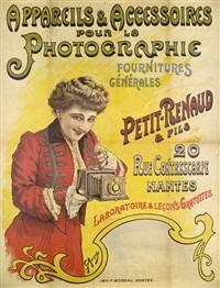 petit-renaud & fils 20 rue contrescarpe nantes. appareils & accessoires pour la photographie fournitures générales by georges morinet