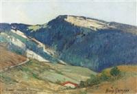 landschaft im jura by henry grosjean