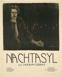 nachtasyl von maxim gorky by wilhelm wachtel