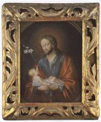 heiliger josef mit dem jesuskind by anna barbara abesch
