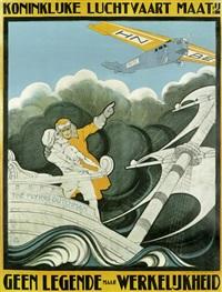 klm. - koninklijke luchtvaart maat:ij. geen legende maar werkkelijkheid by anthonius mathieu guthschmidt