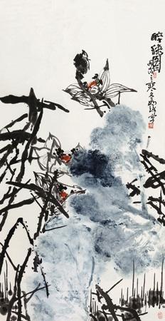 醉秋图 by cui ruzhuo