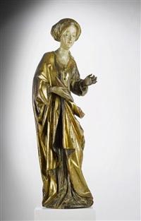 heilige elisabeth von thüringen als brotspenderin by tilman riemenschneider