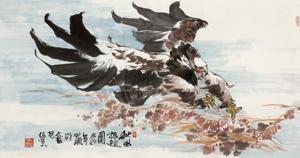 秋风展翅 by zhang ce