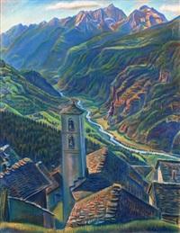 campello in der leventina by theodor allesch-alescha