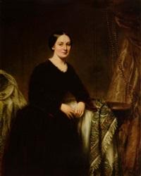 portrait of mrs. c.f. lindsley (no.1) by samuel lovett waldo