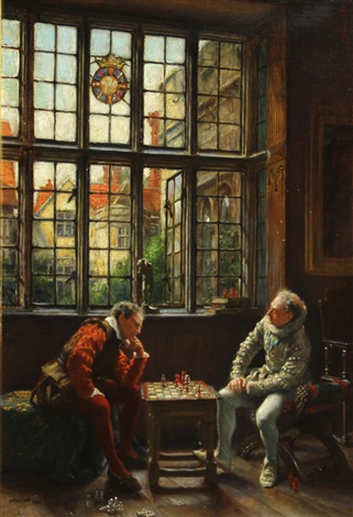 the chess game by frank moss bennett
