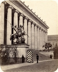 altes museum, berlin by leopold ahrendts