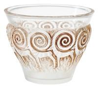 vase «rennes» by rené lalique