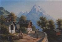 die kirche von silenen by ferdinand corradi