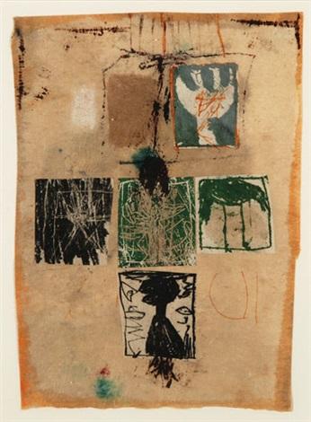 ohne titel (abstrakte komposition) by hannelore baron