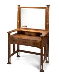 dressing table by shop of the crafters