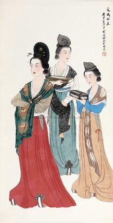 文成公主 princess wencheng by liu lingcang