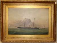 s. yacht vanduara by j. stewart