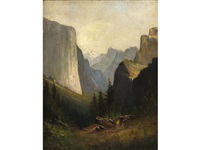 yosemite valley by william weaver armstrong