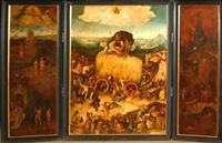 the haywain (triptych) by hieronymus bosch