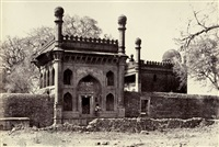 mosque and gateway built by nawab mustafa khan ardistany by thomas biggs