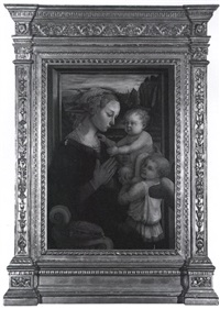 madonna and child with angels by filippo (filippino) lippi
