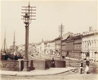 views of st. petersburg (album w/27 works) by joseph daziaro