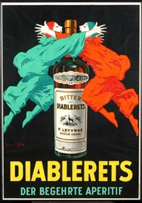 diablerets der begehrte aperitif (poster) by jean d'ylan