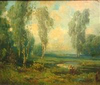 summer eucalyptus by herman (henry) gustavson