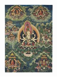 eleven-faced lokeshvara by anonymous-tibetan (18)