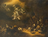 the annunciation to the shepherds by adam de colonia