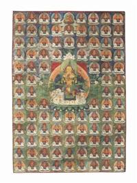 samantabhadra on an elephant by anonymous-tibetan (18)