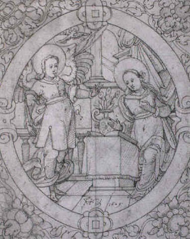 verkündigung mariae by hans ulrich fisch the elder