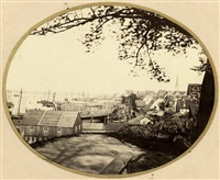views of rostock and surroundings (15 works) by f. h. dethleff