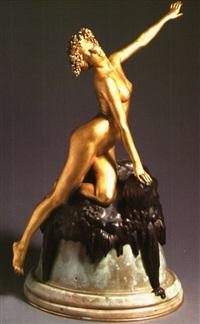 lampe bronze louis chalon