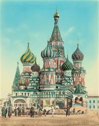 views of moscow and surroundings (5 works) by joseph daziaro