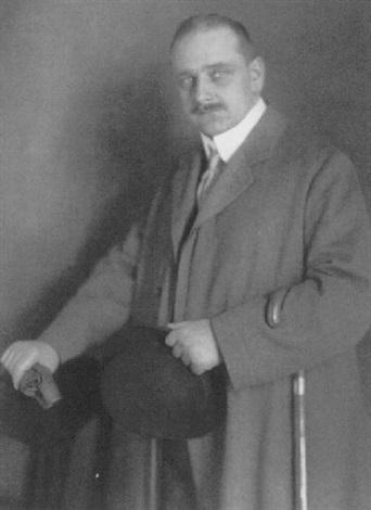 porträt prof arthur bock bildhauer by rudolph duhrkoop
