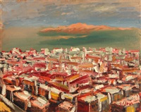 view over san francisco by anders gustave aldrin