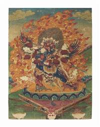 heruka and vajravarahi by anonymous-tibetan (18)