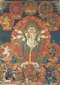 white mahakala by anonymous-tibetan (19)