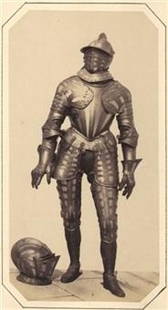 armor - alfons ii. von este. herzog von ferrara und modena (+ armor - lazarus schwendi freiherr von hohenlandsberg; 2 works) by andreas groll