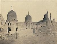 khaliferngräber in kairo by wilhelm hammerschmidt