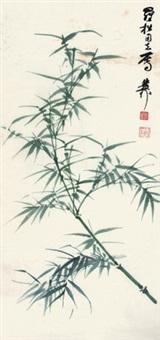 绿竹图 by xie zhiliu