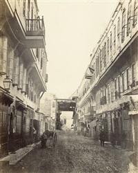 el mouskie street, cairo by wilhelm hammerschmidt