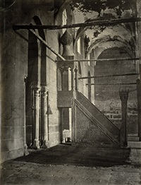 the minbar of the barkouk mosque, cairo by wilhelm hammerschmidt
