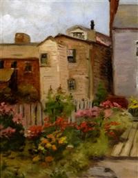 backyard garden by edith a. scott