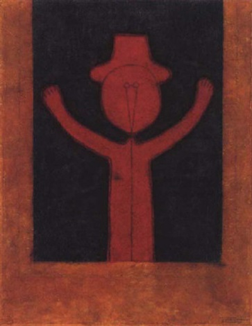 Niño con sombrero by Rufino Tamayo on artnet 5e521bf74dc