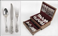 flatware service (in 114 parts) by r. wallace & sons (co.)