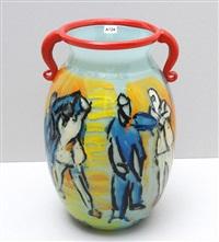 figurenszene - vase by viola frey