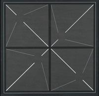 geometrische komposition über vier seriell angelegte quadrate by katayama toshihiro